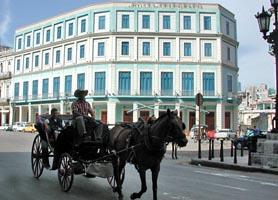 Hotel Telegrafo Havana Front